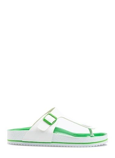 Benetton Bn1022 Erkek Terlik Yeşil